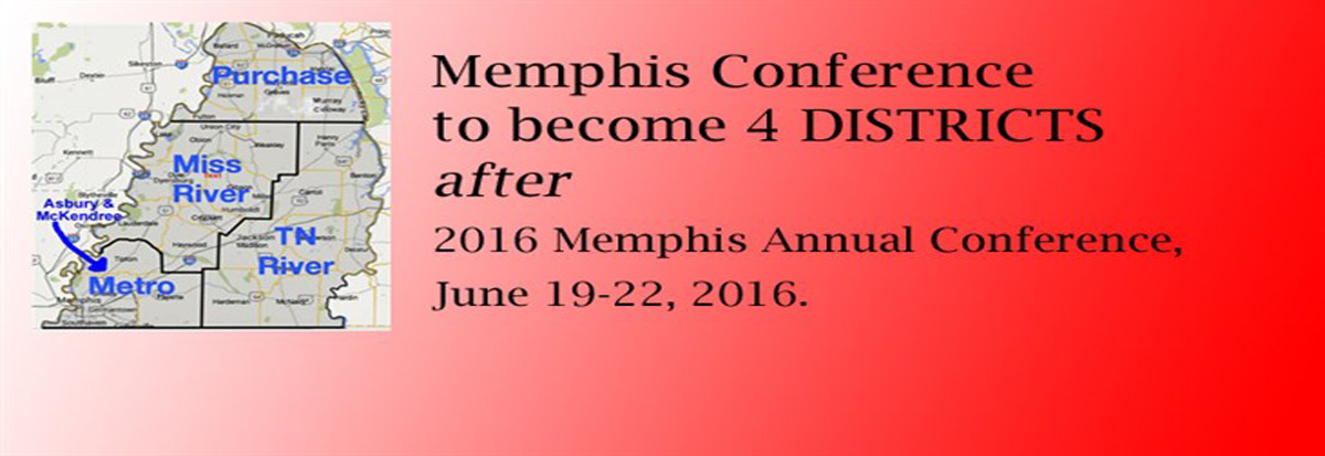New Memphis Conference Districts