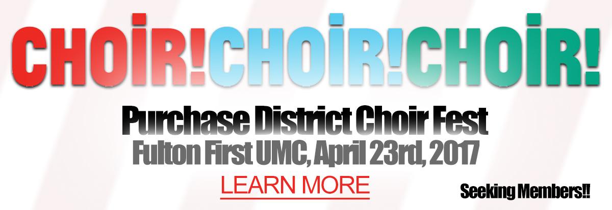 10th Annual District Choir Fest Event