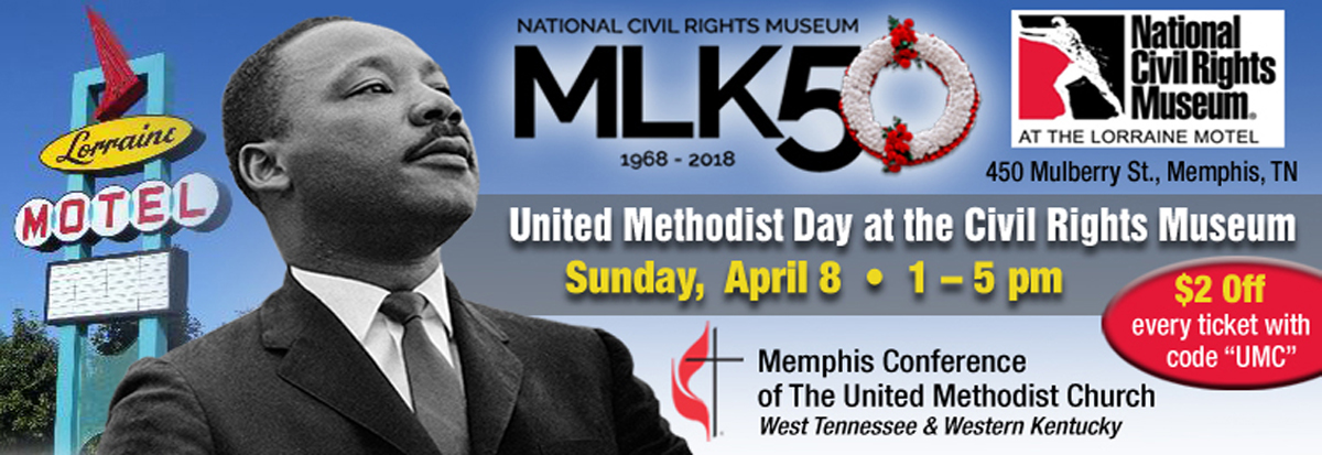 United Methodist Day at the Civil Rights Museum, Memphis, TN