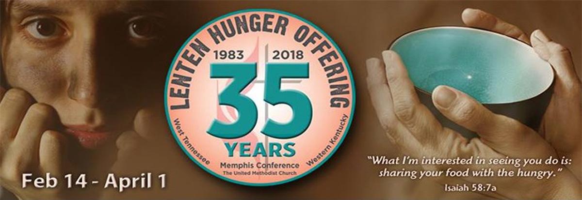 Lenten Hunger Offering 2018