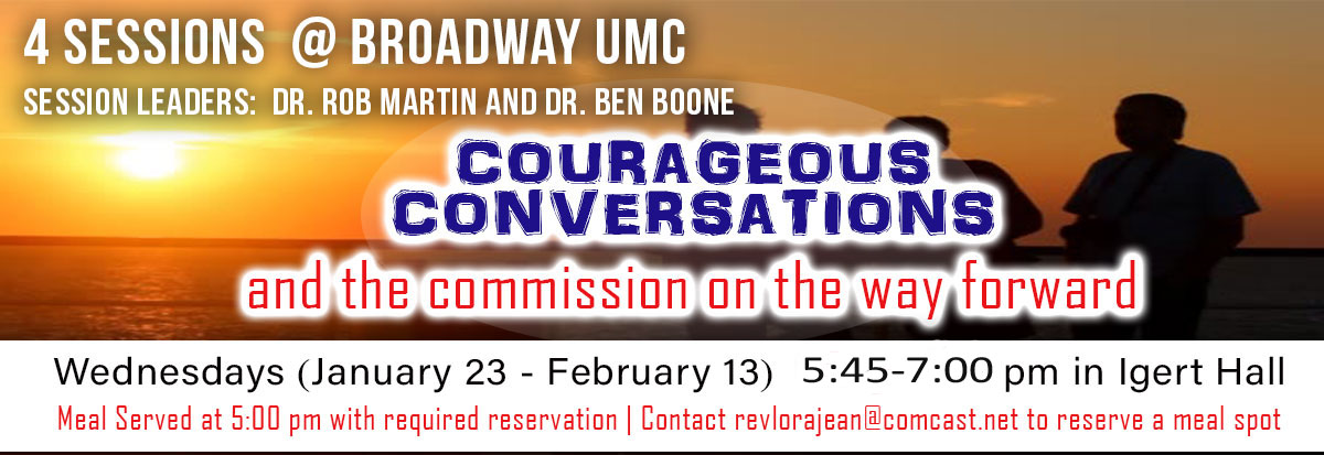 Courageous Conversations and the commission on the way forward