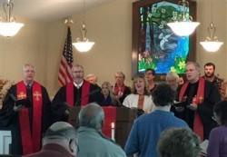 Image: Worship at Mason's Chapel UMC