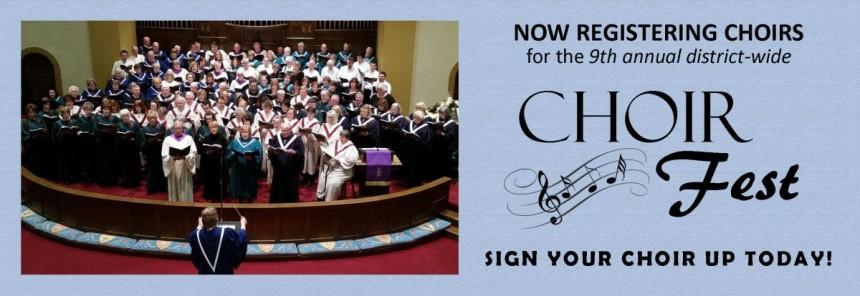 Image: Choir Fest banner